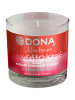 Dona Kissable Massage Candle - Strawberry