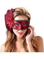 Red Secret Mask