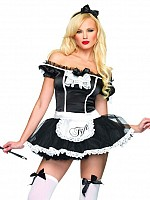 French Maid med rosett