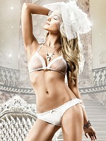 Bikiniset med transparent BH