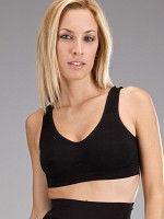 Shaping Wide Strap Push-Up Bra - Svart