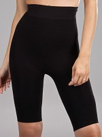 Long Leg Slimming Pants - Svart