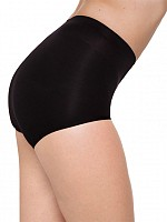 Short leg low waist shaping panty - Svart