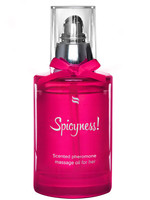 Scented Pheromone Massage Oil - Spicy