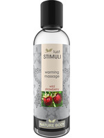 Lust Stimuli Warming Massage - Wild Strawberry 100 ml