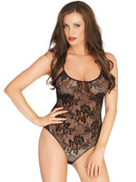Rose Lace Teddy